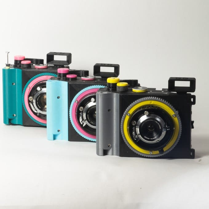 The CAMERADACTYL Brancopan Uses 35mm Film to Shoot Panoramas