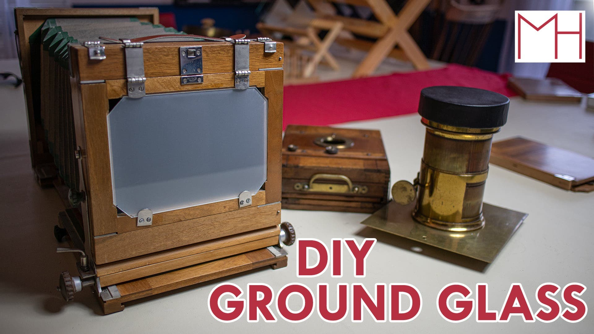 How to Make Ground Glass for a Large Format Camera