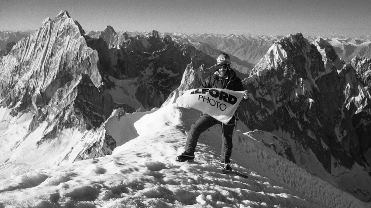 Ilford #MyFilmStory: Capturing the Spirit of Mountains on Large Format