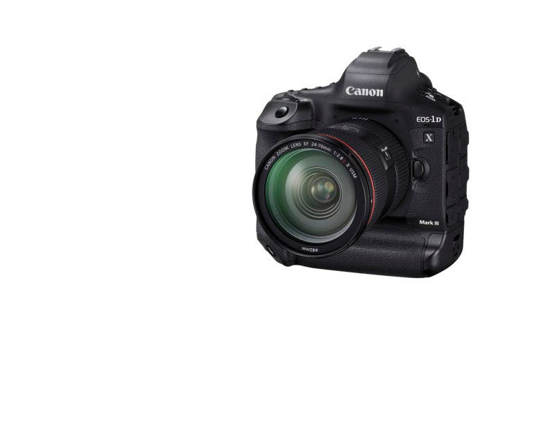 The New Canon 1DX Mk III Could Hint at the Next EOS R's Features
