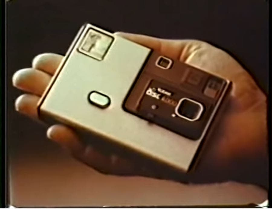 This Commercial Reminds Us of the Kodak Camera That Everyone Forgot