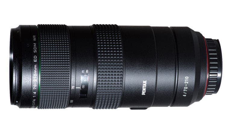 After Leaks, The Pentax D FA 70-210mm F4 Zoom is Finally Official