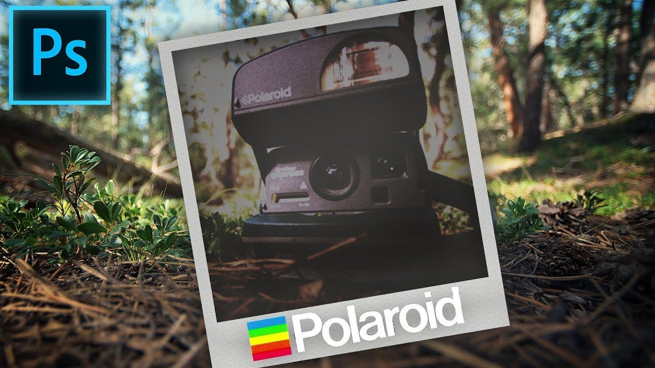 How to Get the Vintage Polaroid Look in Photoshop