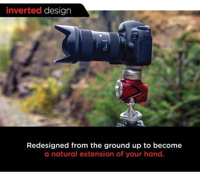 Platyball is Today's Most Innovative Tripod Head Accessory
