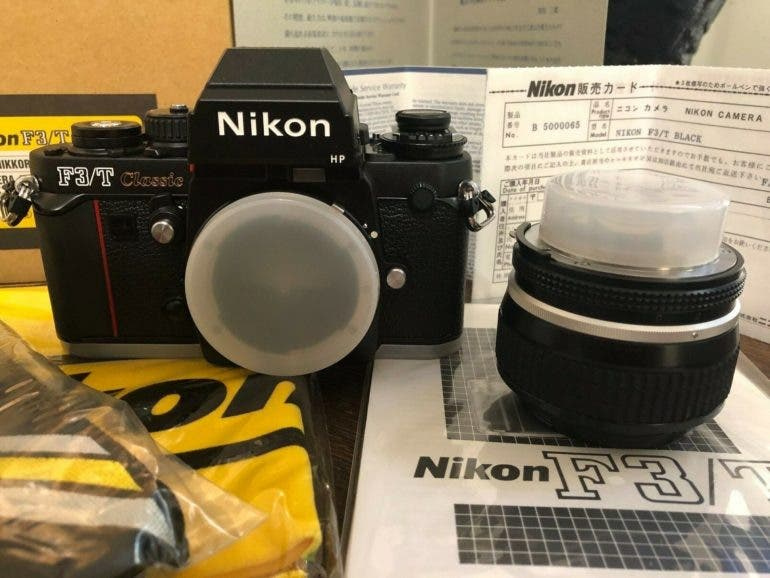 Guess How Much A Brand New Nikon F3/T and 50mm F1.2 AI-S Costs