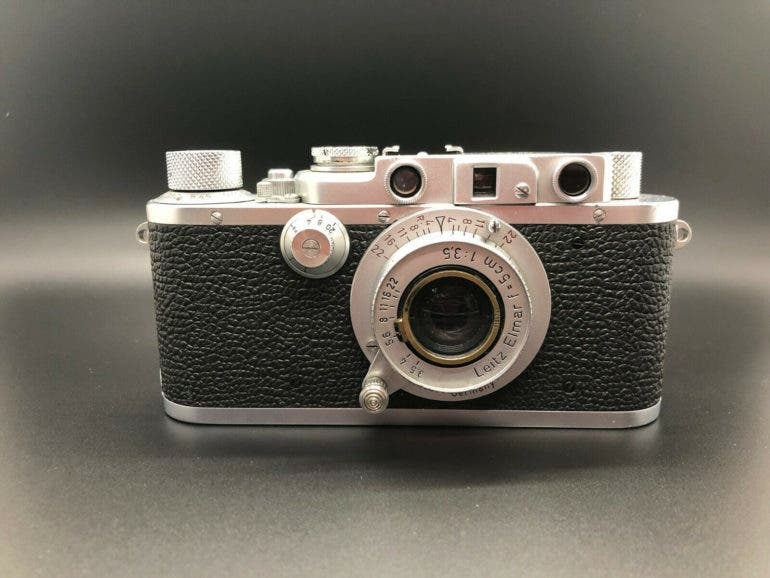 Here's Your Chance to Snag a Super Rare Leica 72 Half-Frame Camera