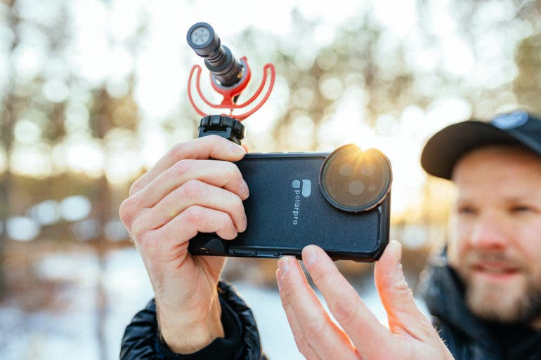 PolarPro's LiteChaser Filter System Aims to Elevate Mobile Photography