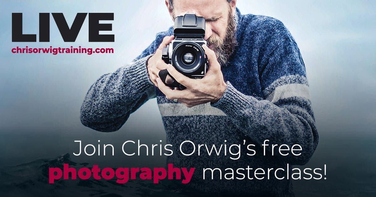 Cheap Photo: 2 Free Photography Masterclasses, Save with Joel Grimes!