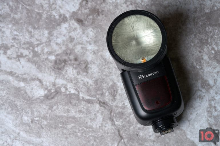 Profoto A1 competitor the Flashpoint Li-Ion R2 Zoom.