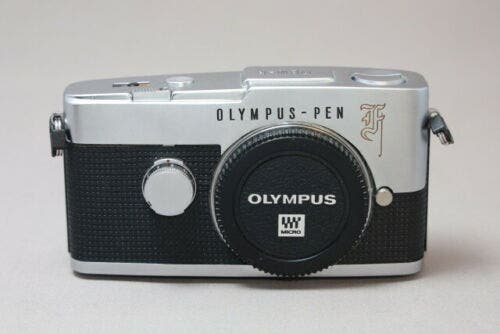 Someone Stuffed a New Olympus Pen into a Vintage Pen F Body