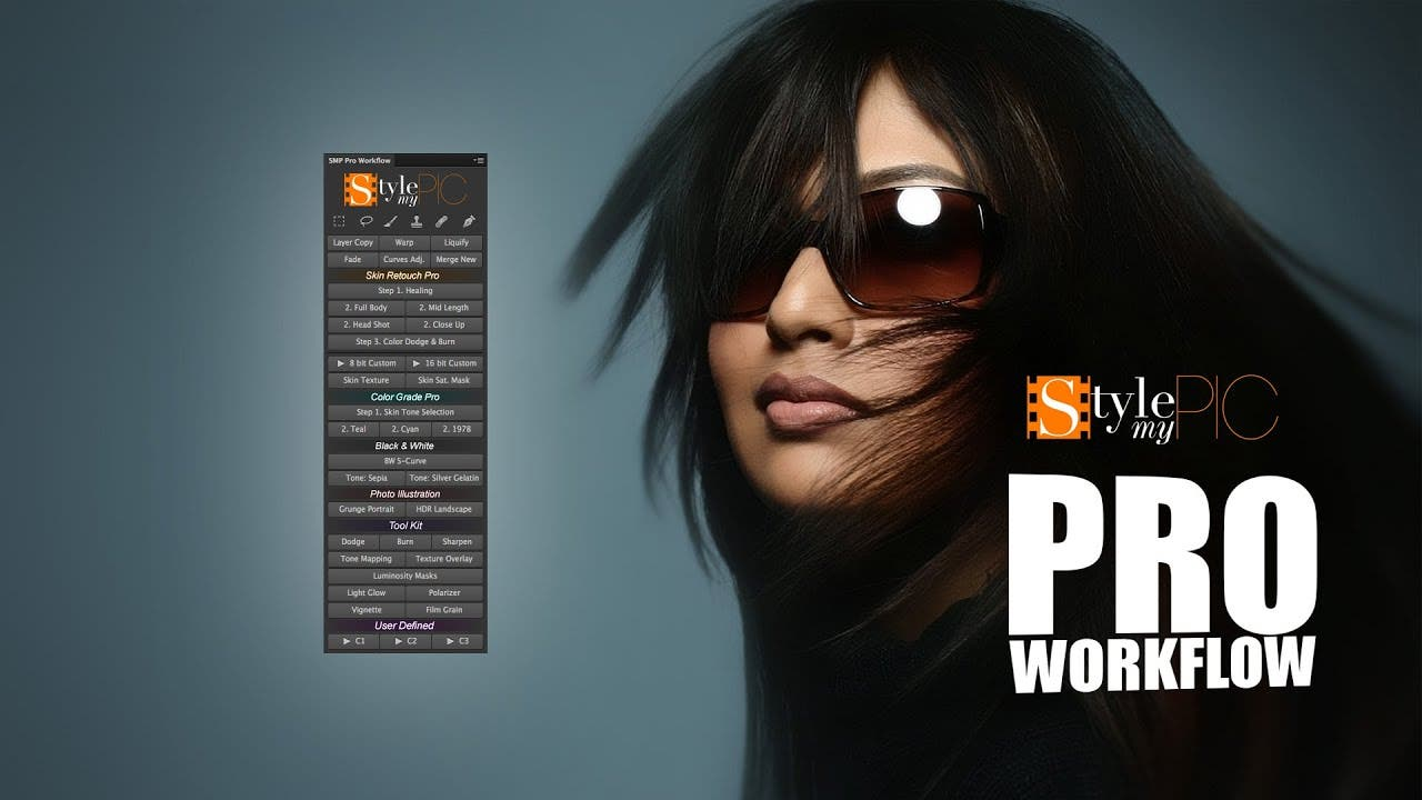 StyleMyPic's Photoshop Workflow Panel Will Simplify PS for Just $39