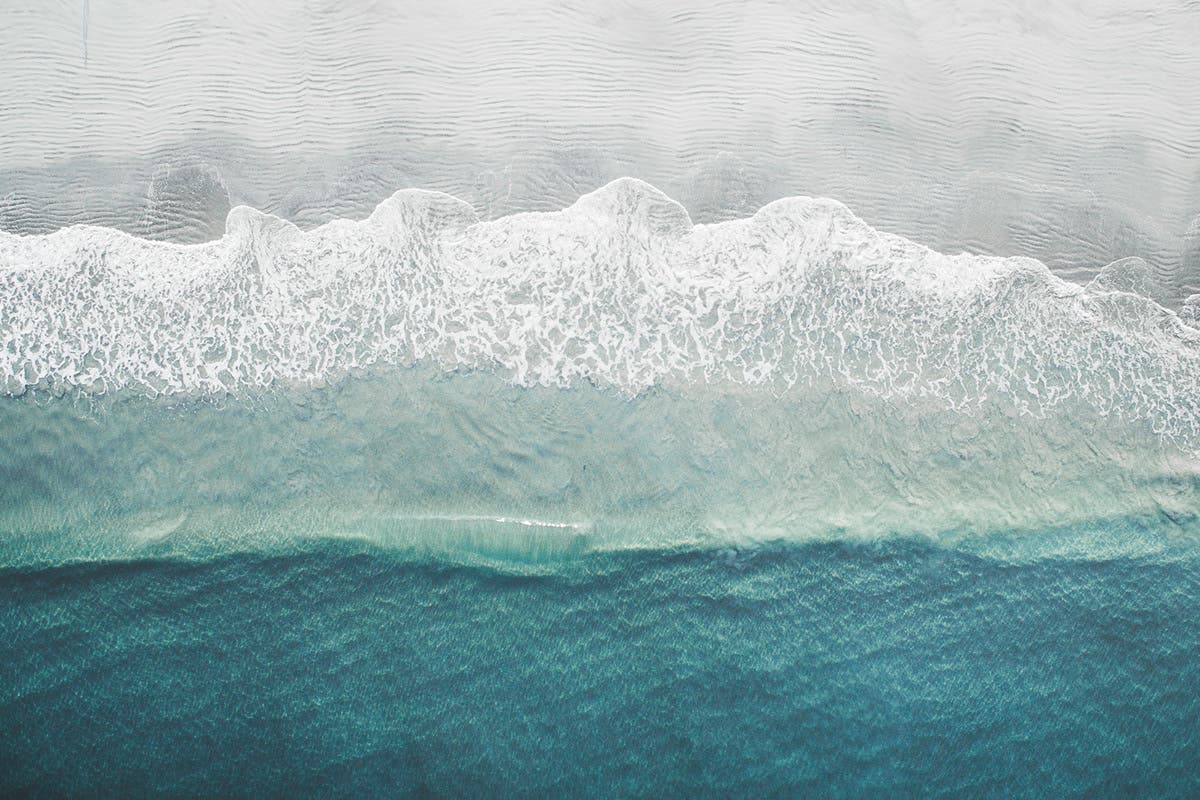 Tobias Hägg Uses a Drone to Make the Oceans Look Ever So Stunning