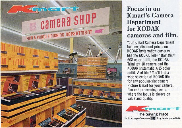 Vintage Ad Shows What Film Photographers Wish They Were Stocking Up Today