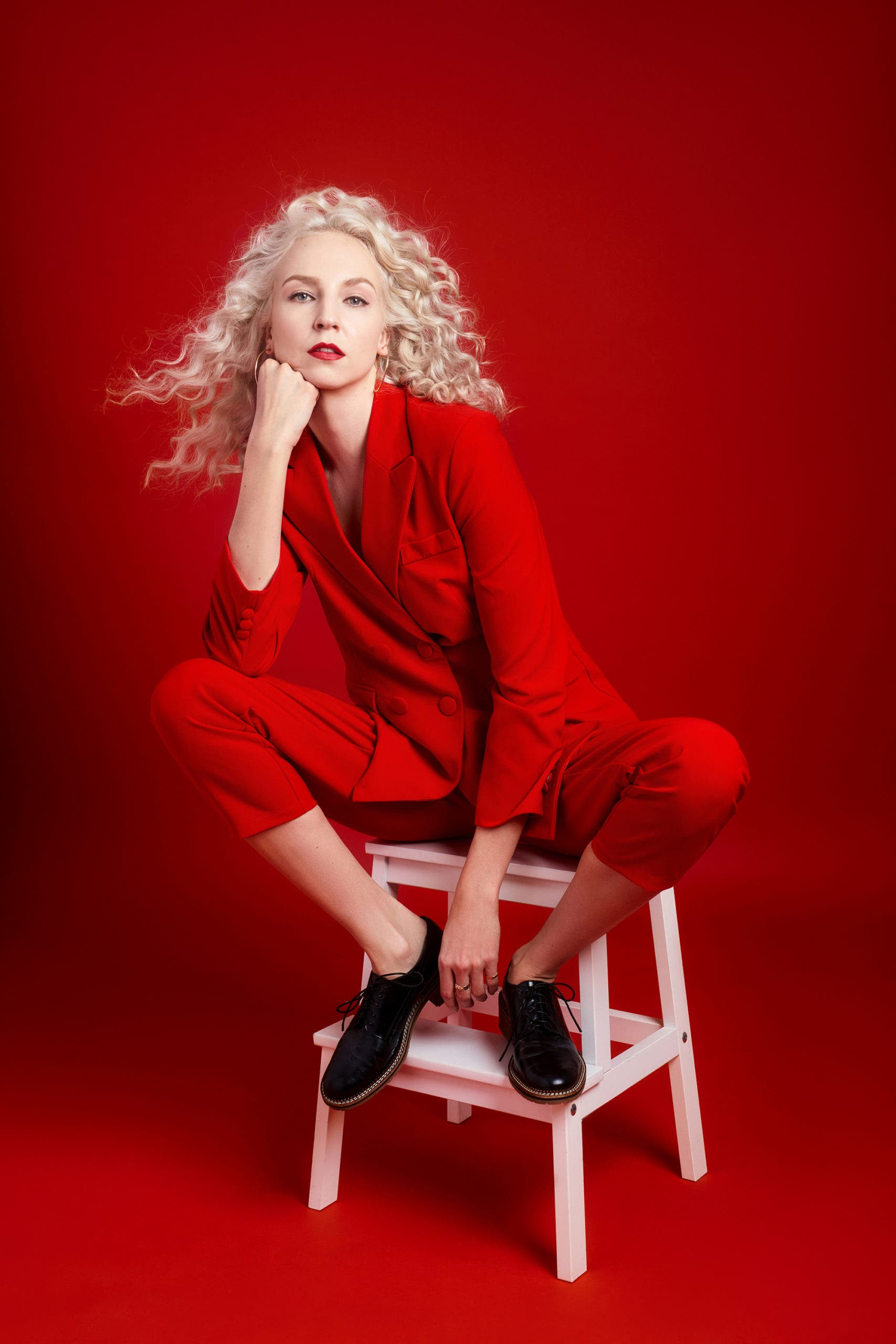 """Creating the Photograph: Claudia Paul's """"Red on Red"""""""