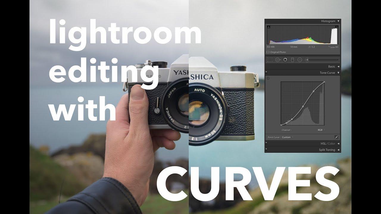 Using Curves on Lightroom to Get the Vintage Film Look