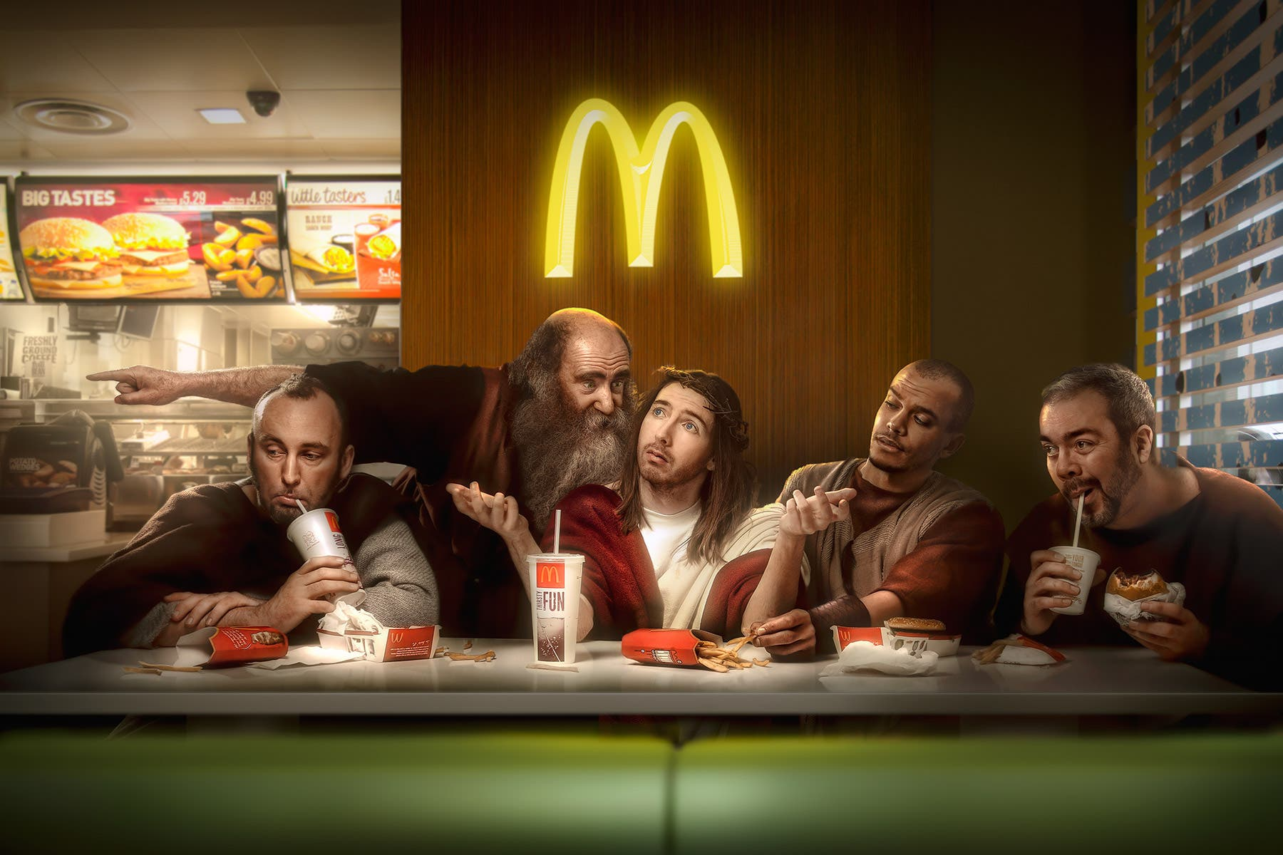 Chris Clor Imagines Jesus and His Disciples in the Modern World