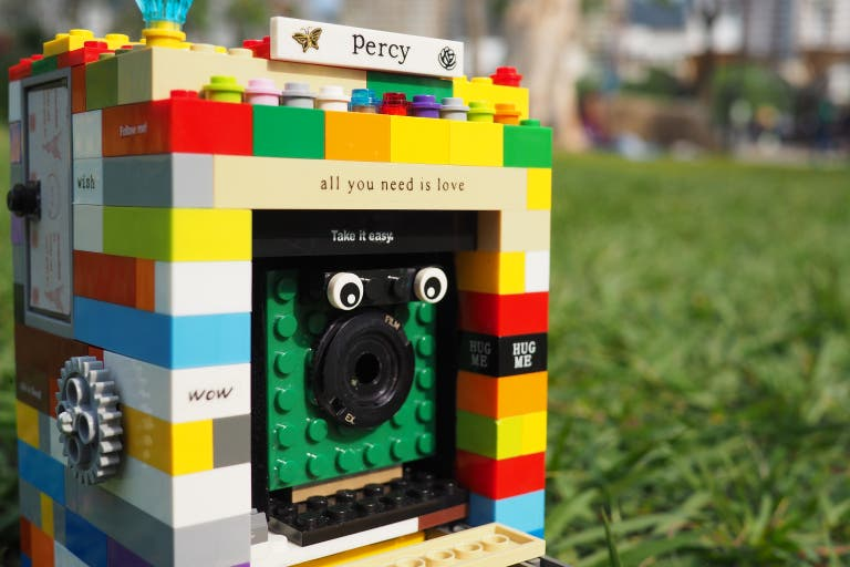This Adorable Lego Camera Combines a Folding Design and a Mirrorless Camera Back