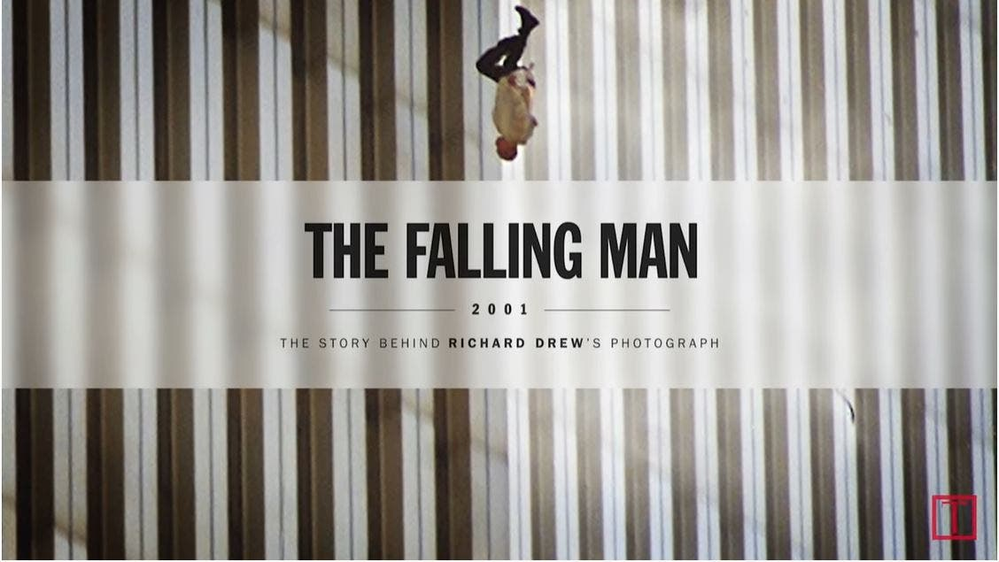 "Richard Drew Tells the Poignant Story Behind ""The Falling Man"" Photo"