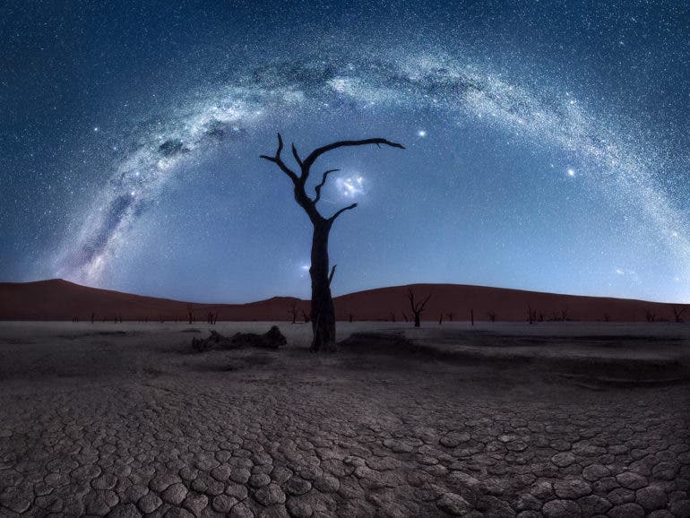 Isabella Tabacchi's Astrophotography Under Namibia's Surreal Night Sky