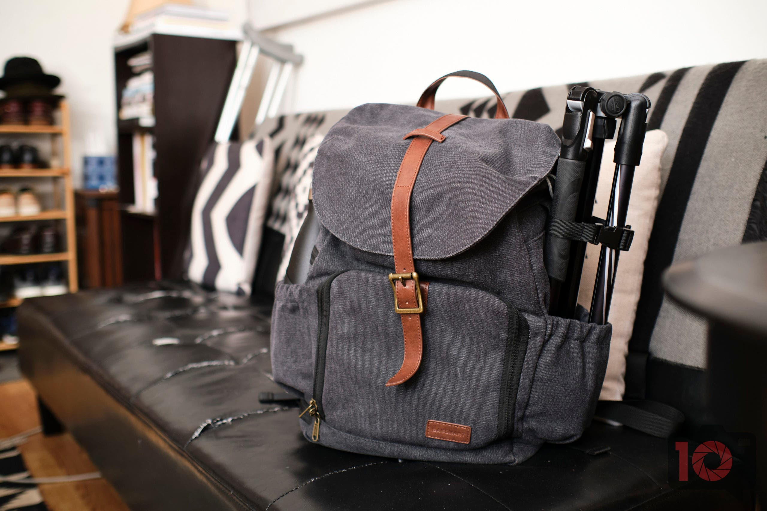 Less Than $65 and Great! The BAGSMART Camera Backpack Review