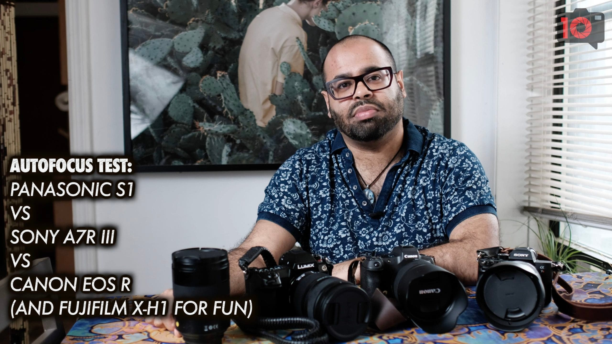 Video: An Autofocus Test. Canon vs Panasonic vs Sony vs Fujifilm