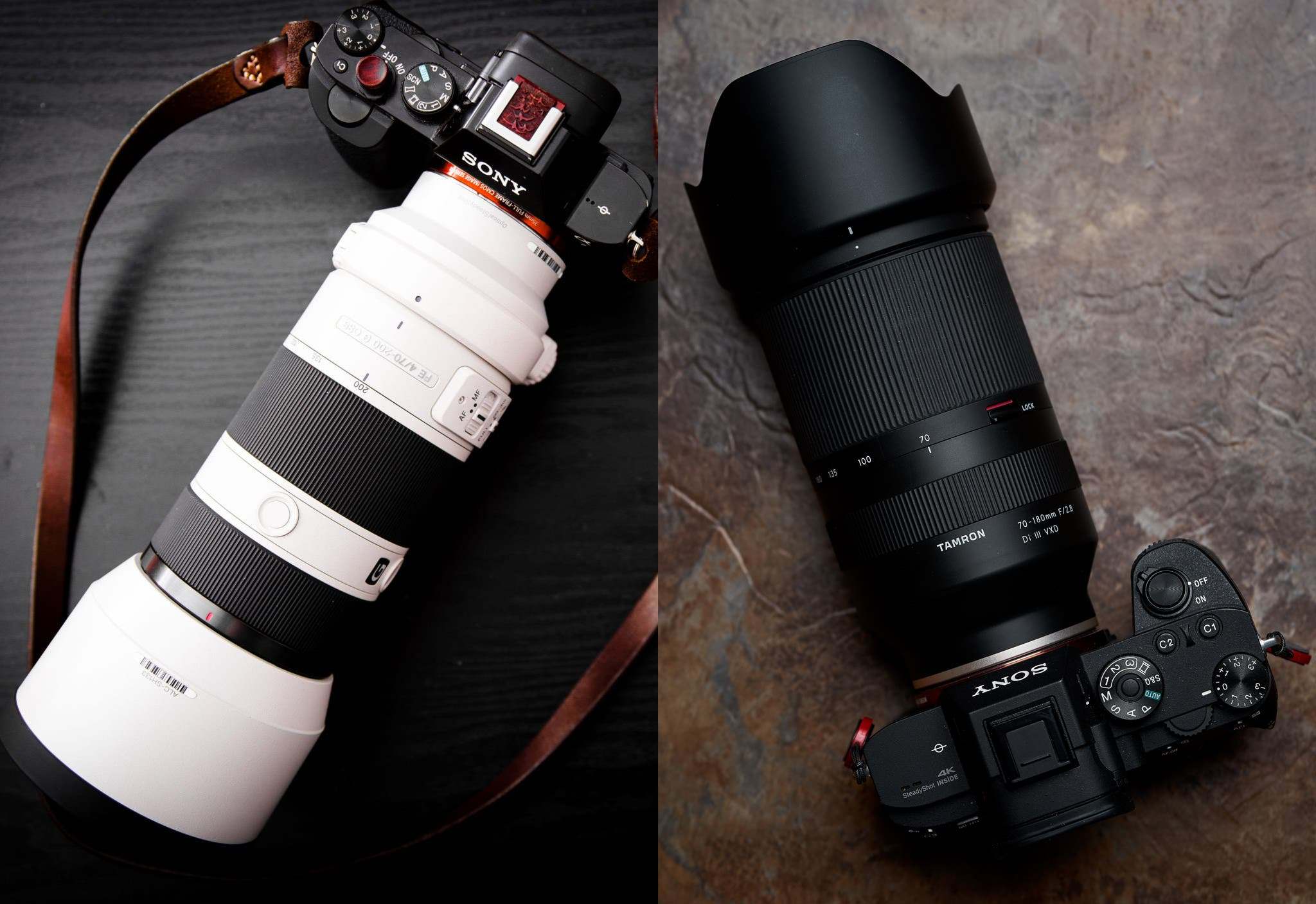Comparison: Tamron 70-180mm F2.8 vs Sony 70-200mm F2.8 G Master