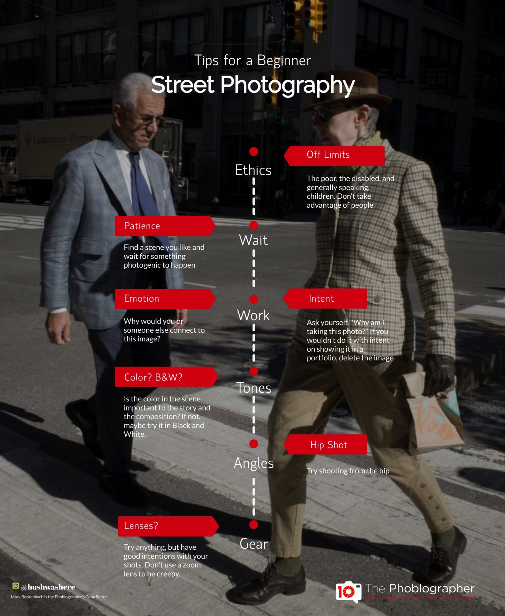 Photography Cheat Sheet: For Someone New to Street Photography