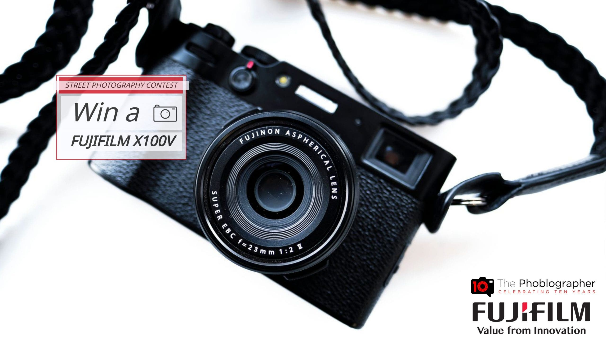 STREET PHOTOGRAPHERS! Enter to Win a Fujifilm X100V!