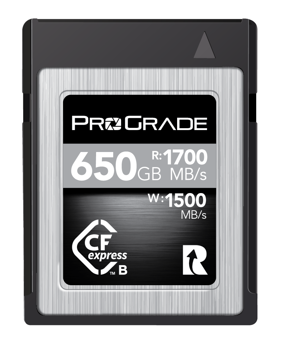 Compared: New ProGrade CFexpress Type B Cobalt Cards Are Fastest
