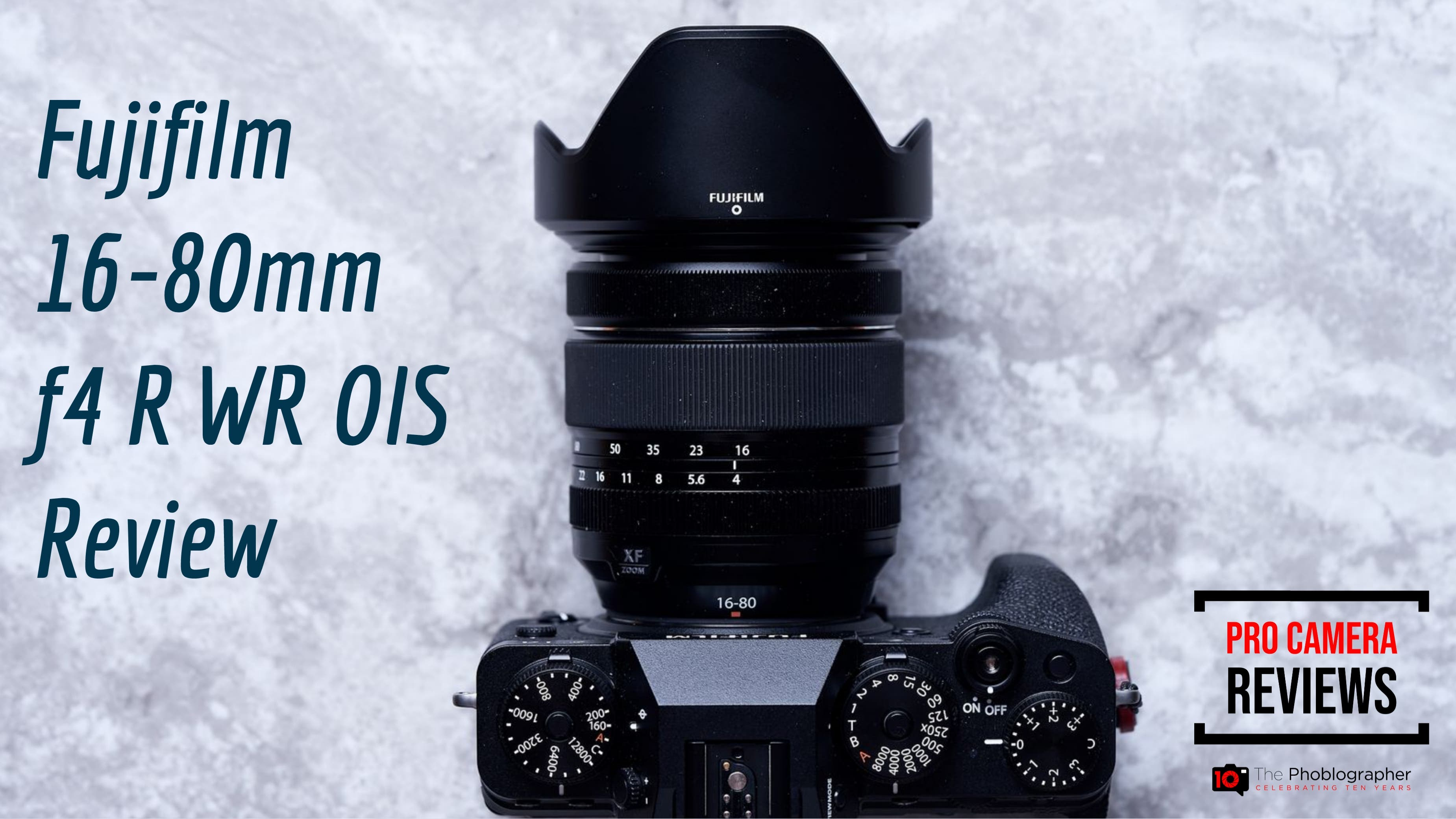 Fujifilm 16-80mm F4 R WR OIS Video Review: (We Love it!)