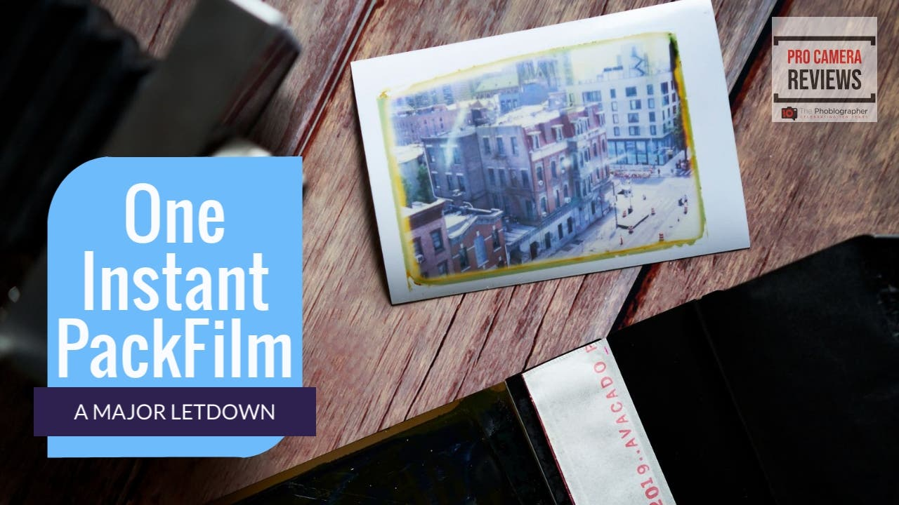Video: SuperSense One Instant Packfilm is a Major Disappointment