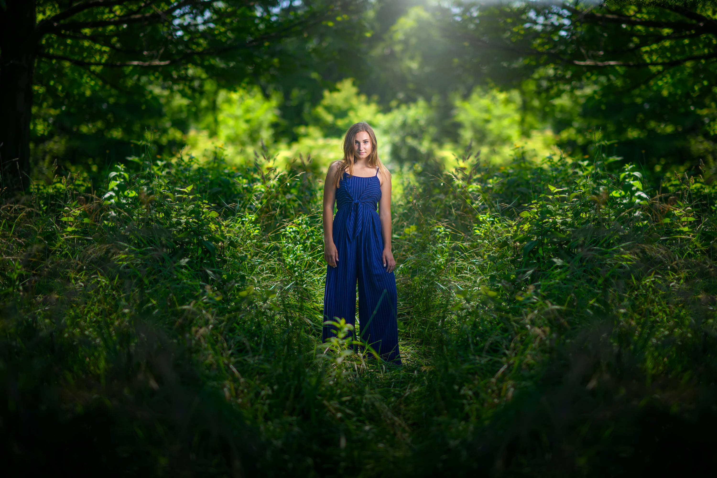 How Audrey Woulard Captured the Girl in the Woods in Urban Chicago