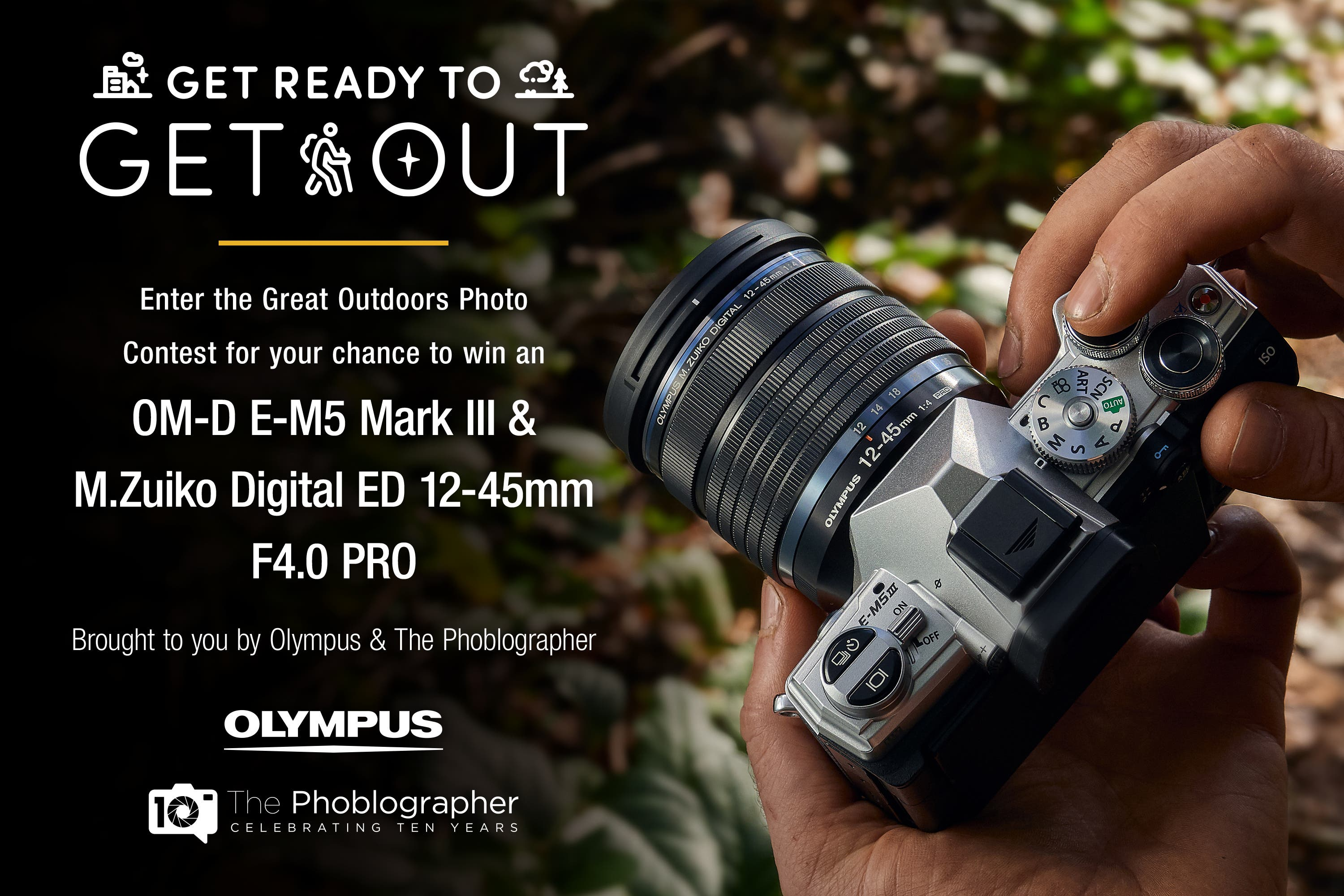 Photograph the Great Outdoors? You Can Win This Great Olympus Set