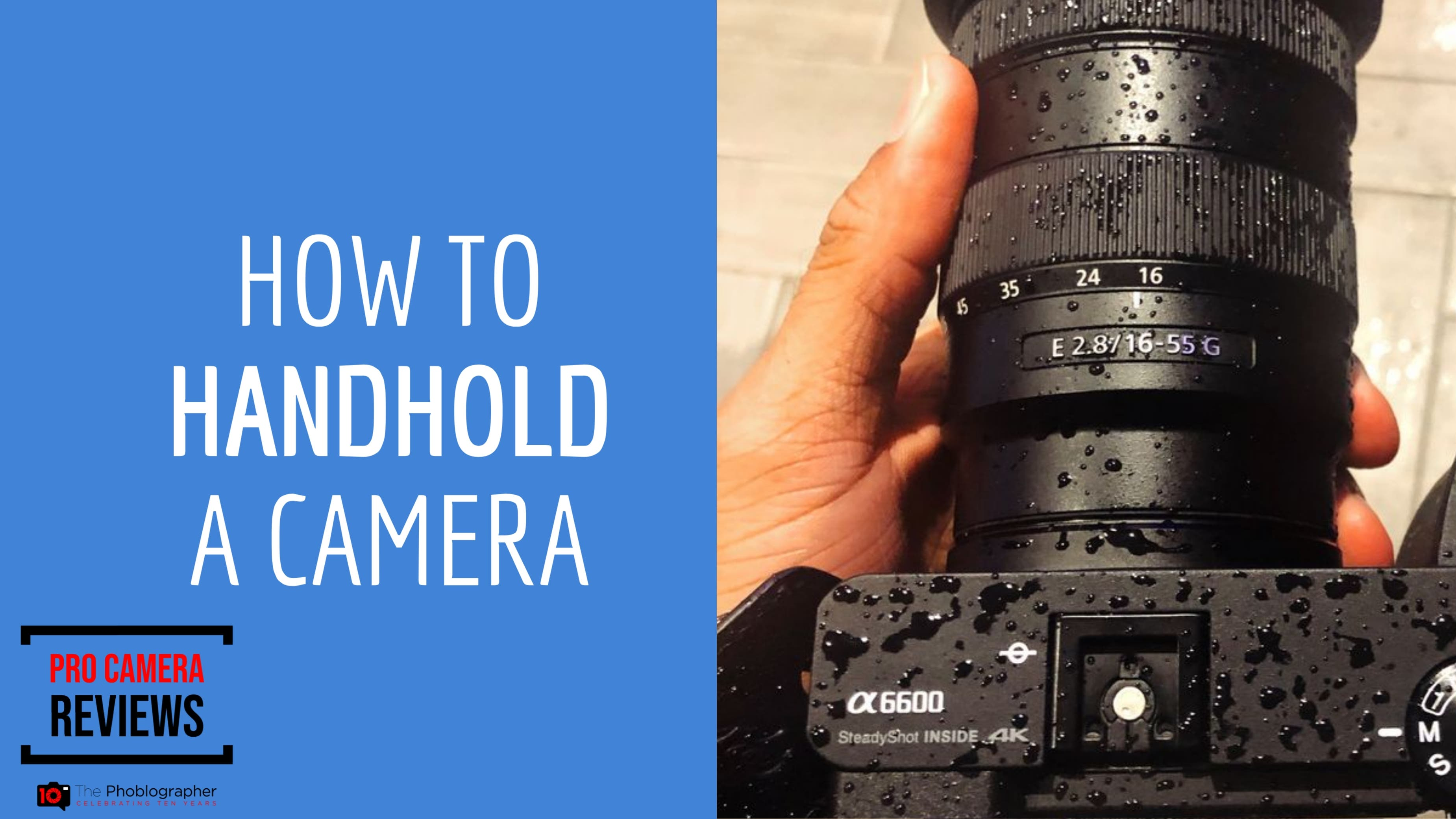 Video: How to Shoot Handheld without Image Stabilization