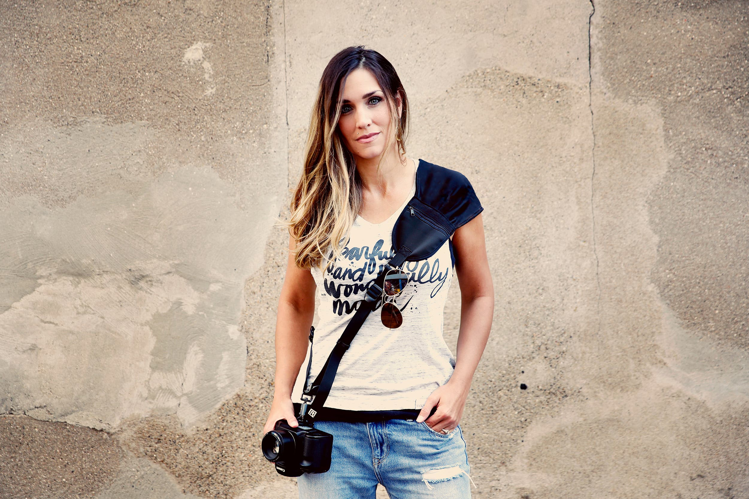 The BlackRapid Camera Sling Has the Female Photographer in Mind