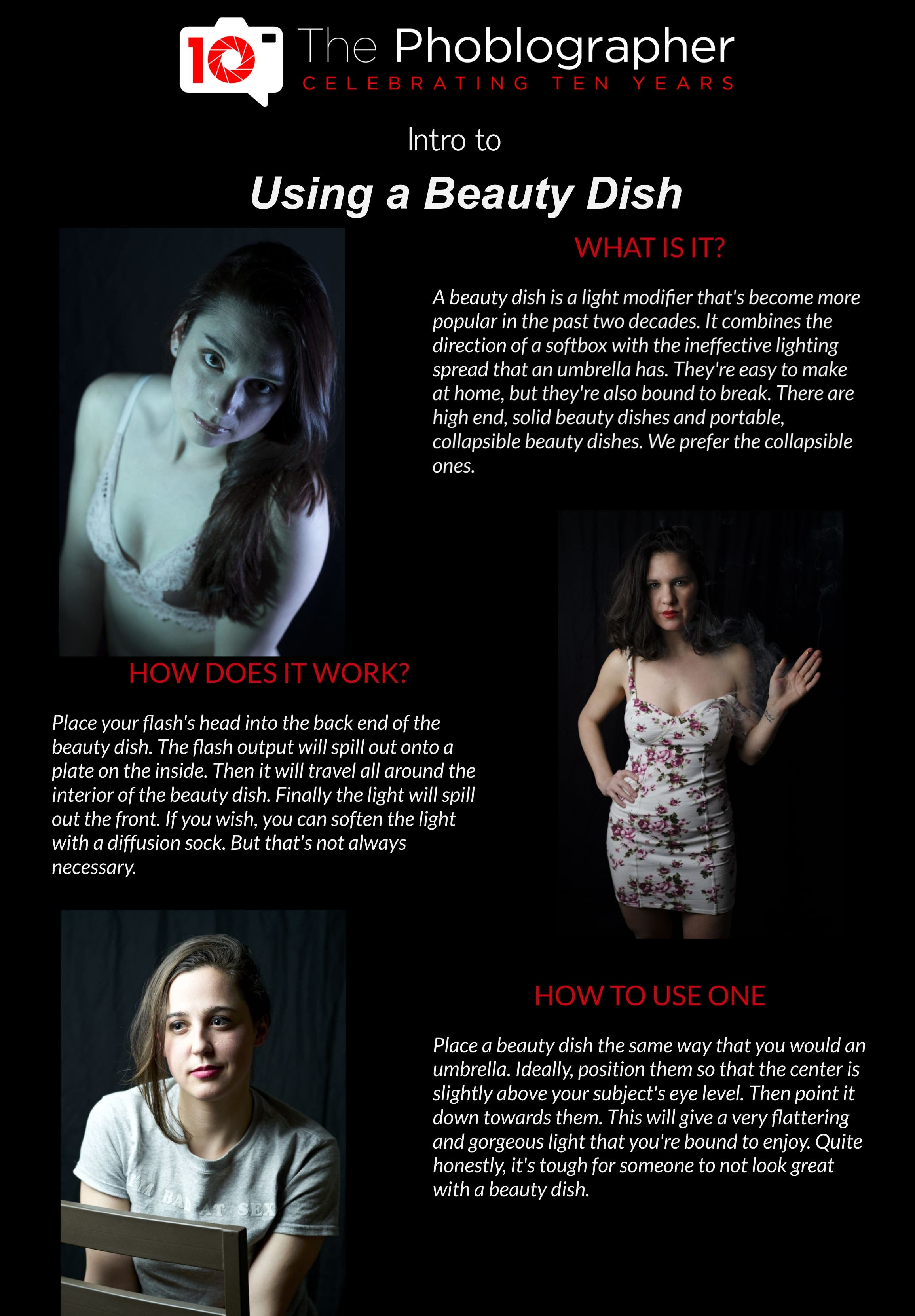 What Photographers Need to Know About Their Beauty Dish