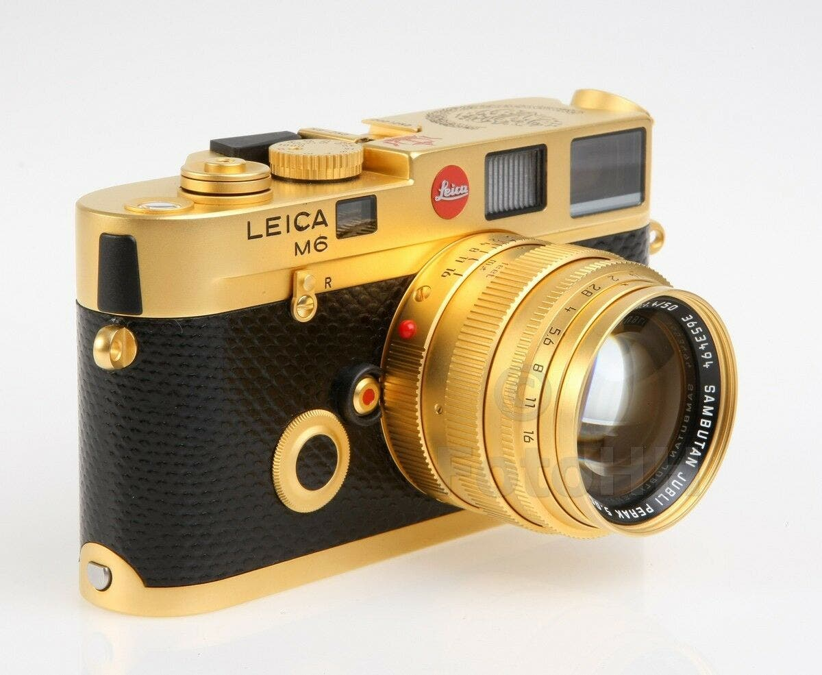 This Very Rare $29,995 Leica M6 was Special Ordered by a Royal Family