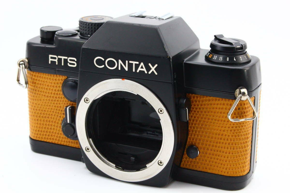 This Stunning Contax RTS is Wearing Lizard Leather Very Well