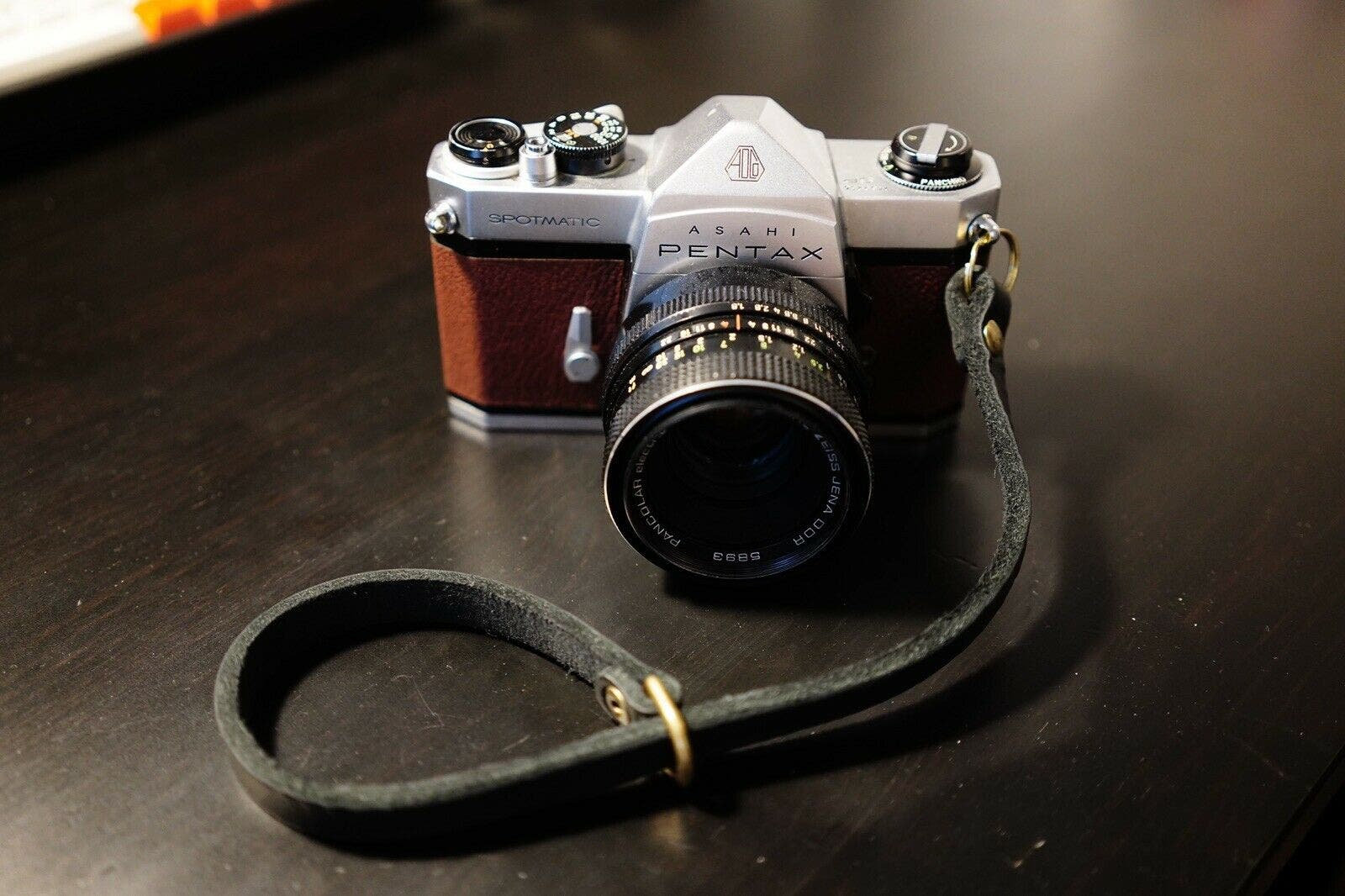 Feast Your Eyes on This Handsome Brown Leather Pentax Spotmatic