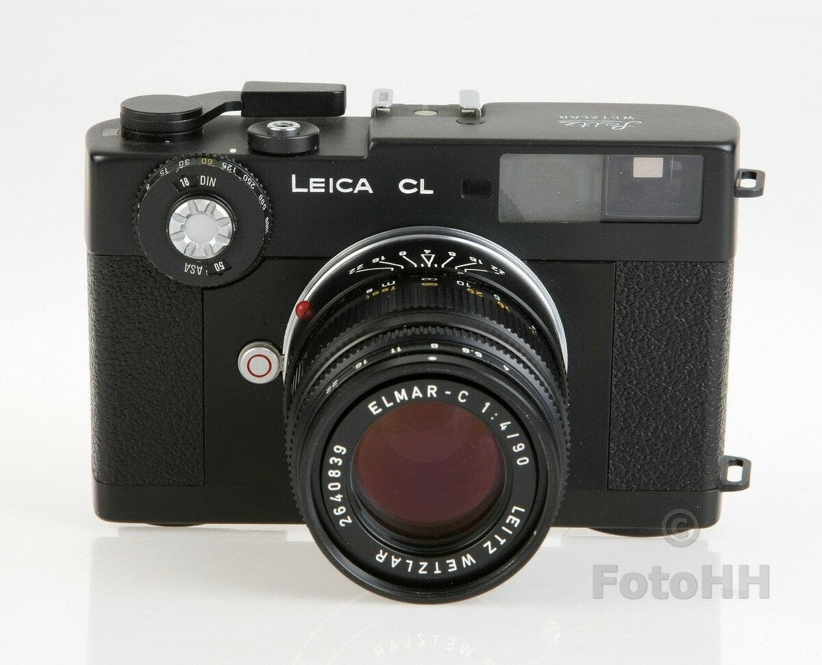 "The Real Story of the Leica CL ""Mount Everest"" Set"