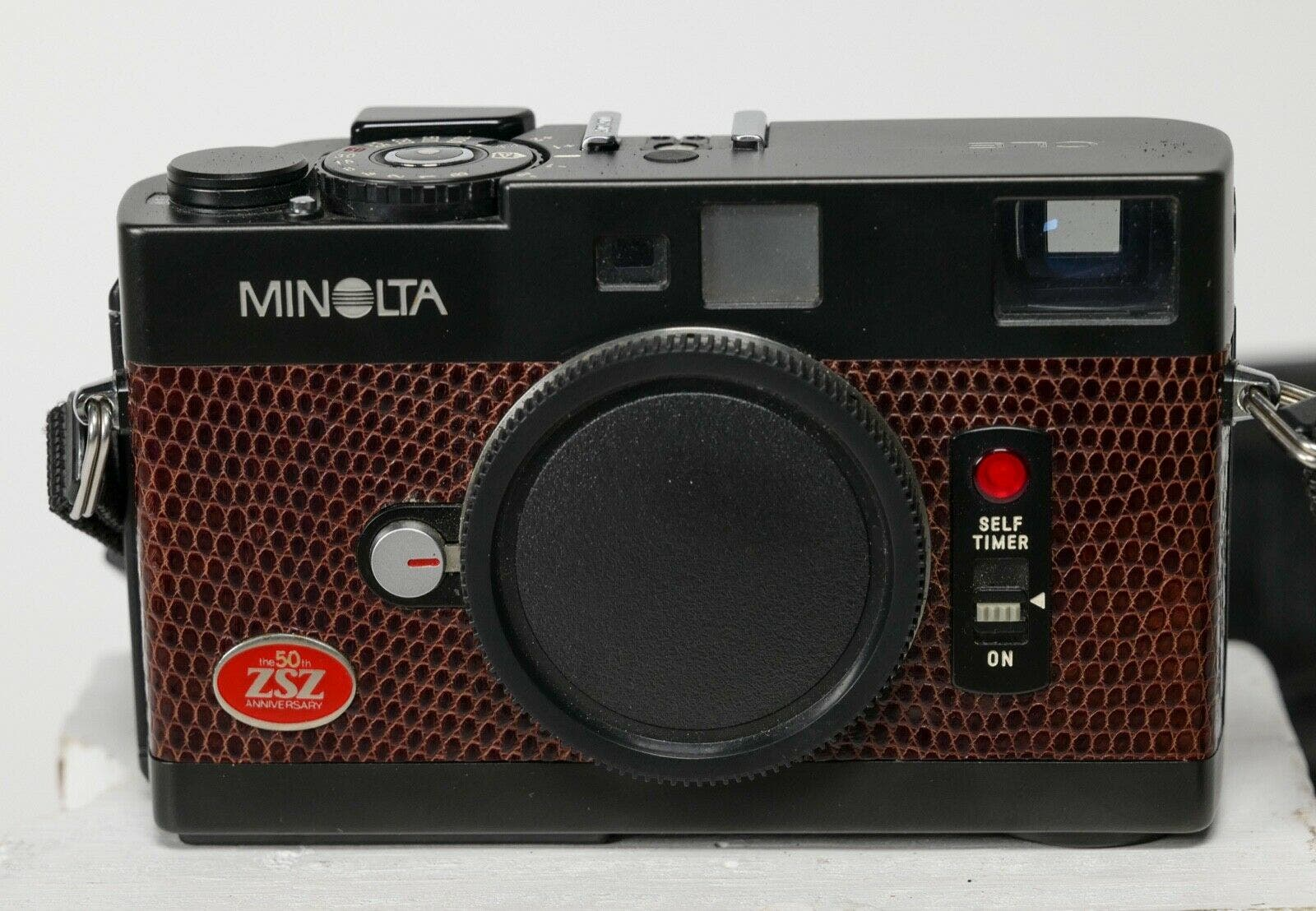 Check Out This Minolta CLE Looking Fine in Brown Leather