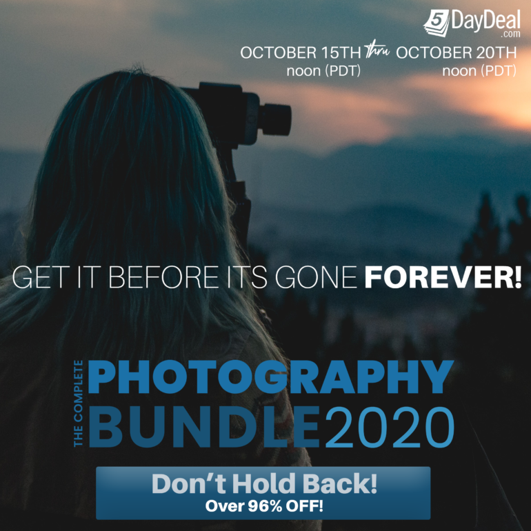 5DayDeal: Save 96% On the Complete Photography Bundle 2020 ($89)