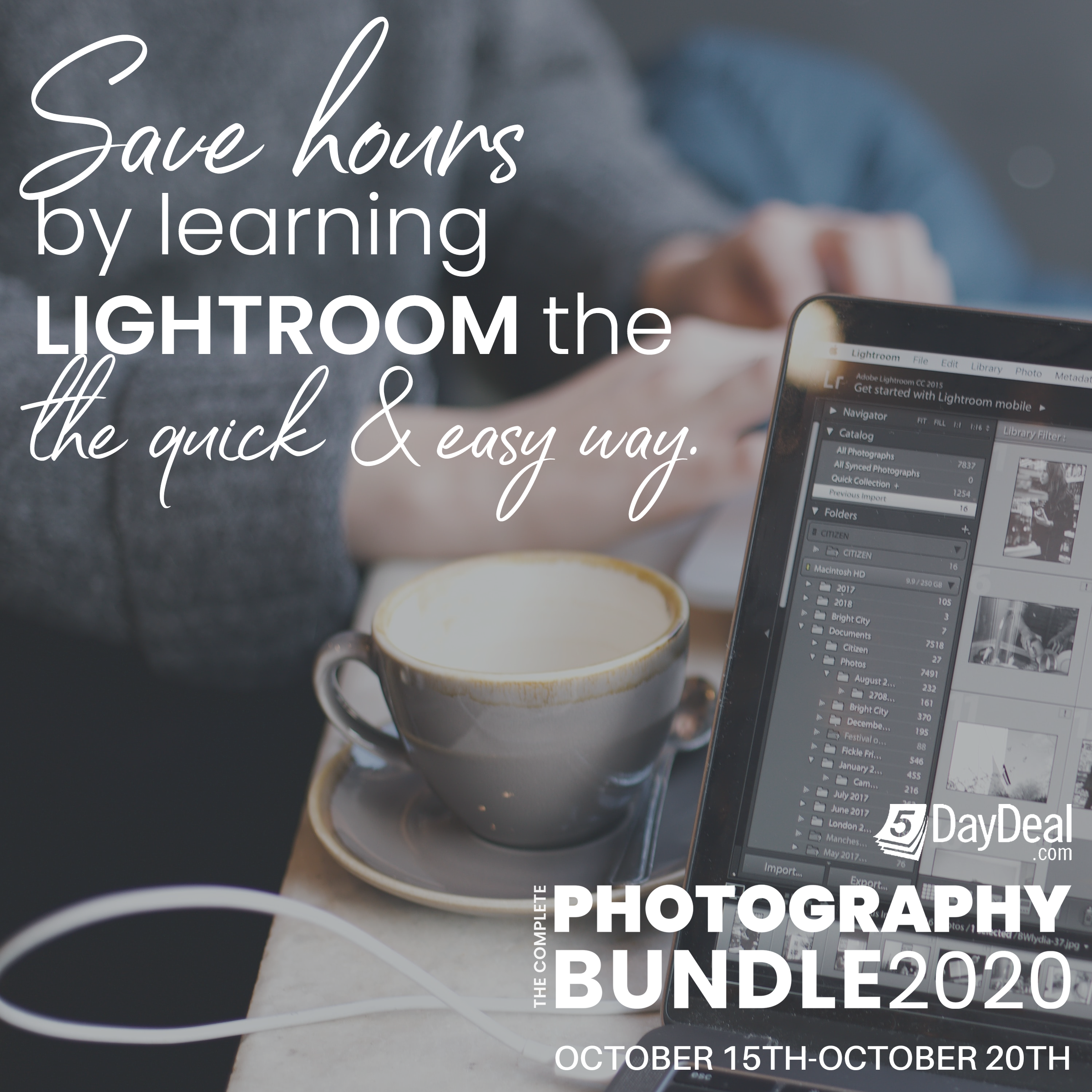 5DayDeal: The $89 Complete Photography Bundle 2020 WIll Soon Vanish