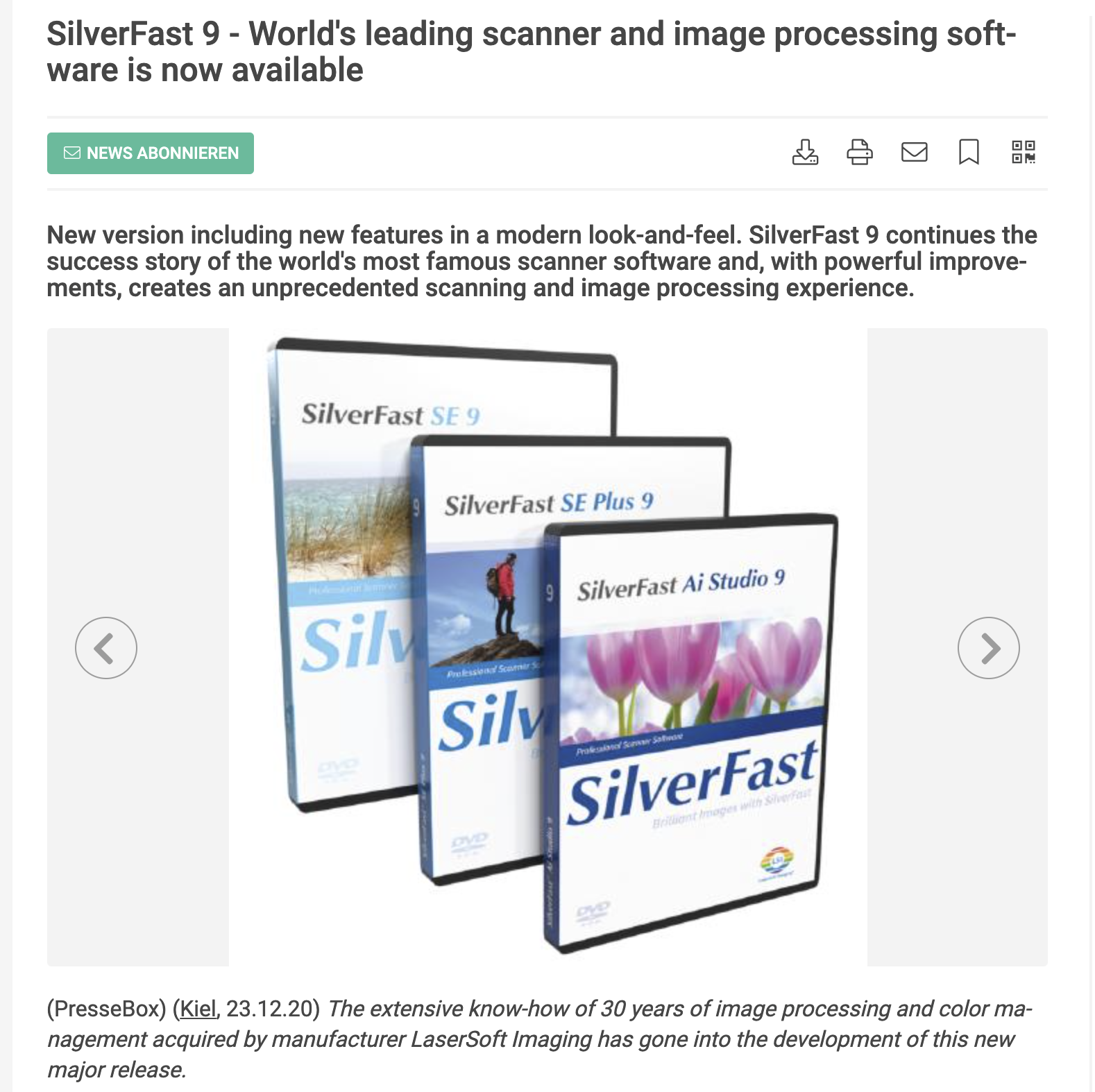 Did We Really Need SilverFast 9? Well, We Got it!
