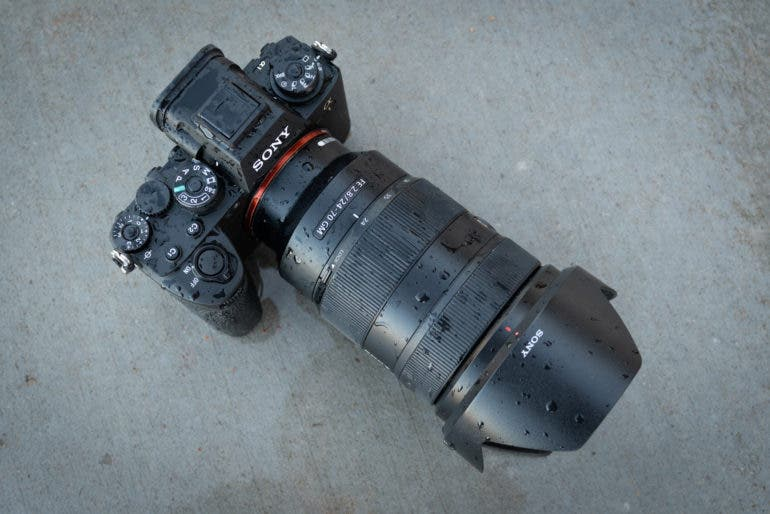 Weather-Sealed Cameras and Lenses