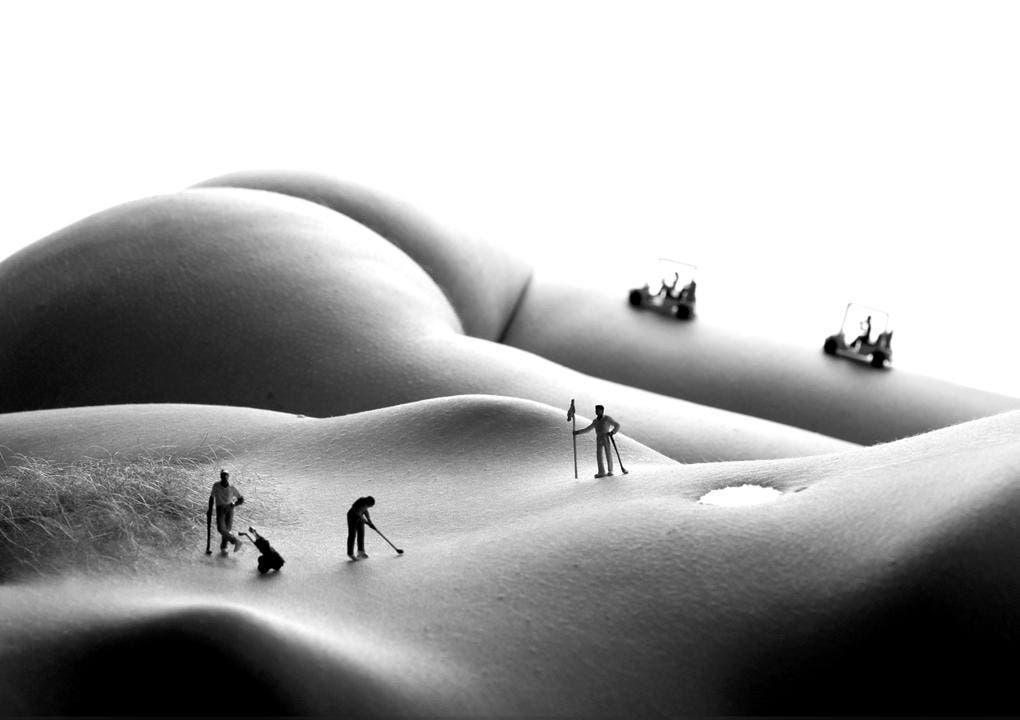 Allan Teger Combines Nudity And Still Life For His Majestic Photos -NSFW