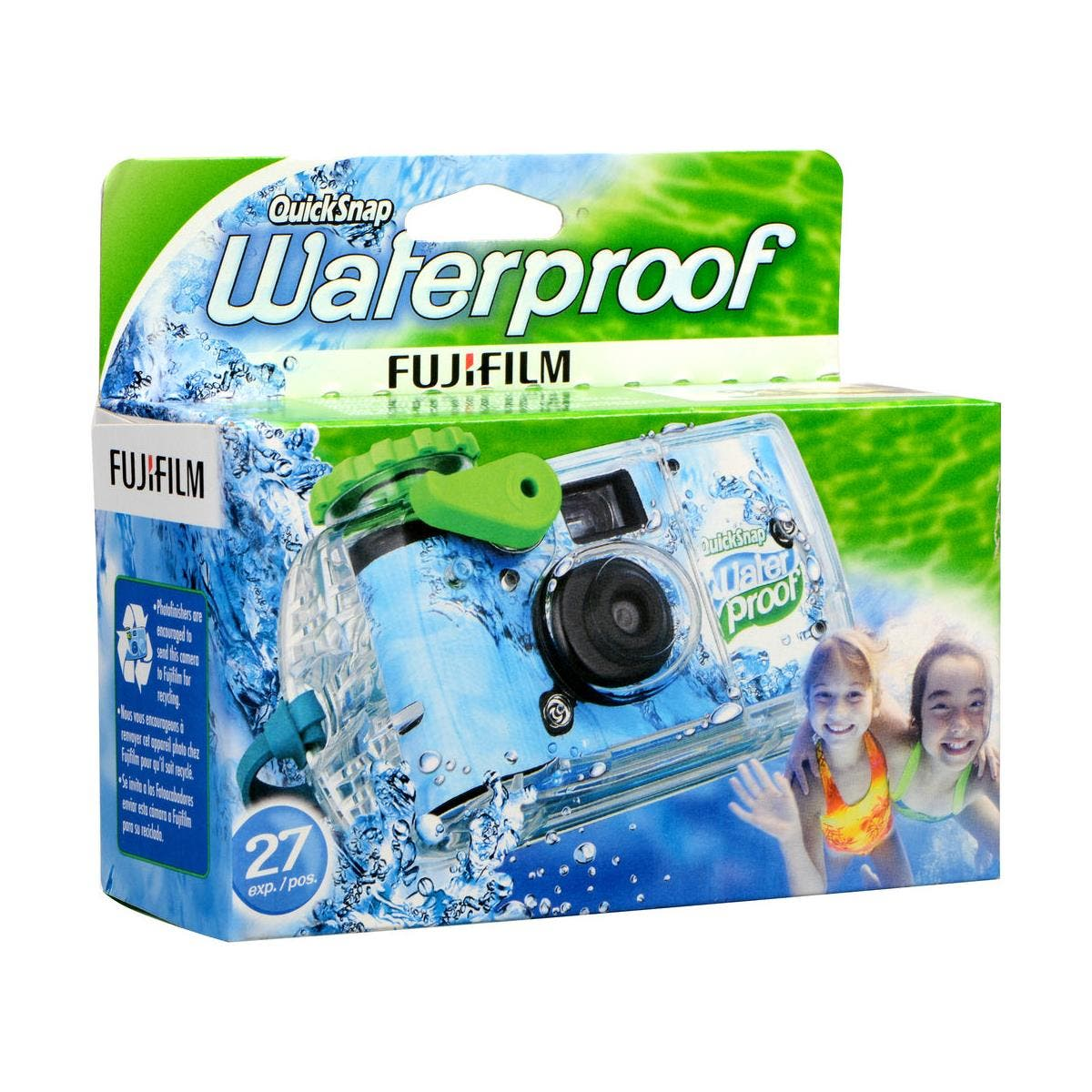 Get Excited! The Fujifilm QuickSnap Waterproof 800 35mm is Back!