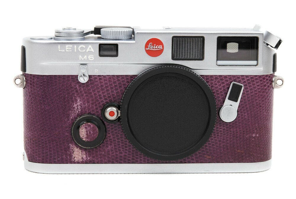 This Purple Leica M6 is Hypnotizing Us With Its Good Looks