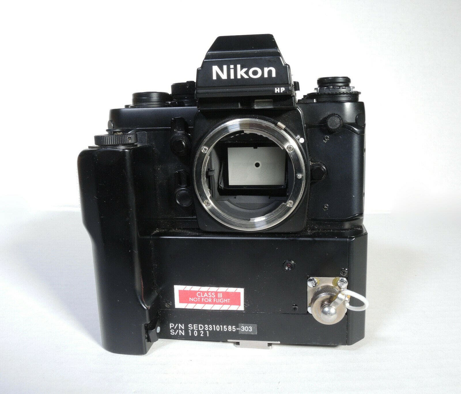 This Nikon F3 Was Made for NASA and Actually Went to Space