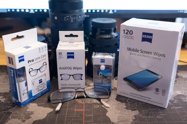 Essentials: These Zeiss Cleaning Solutions Are Great for Photographers!